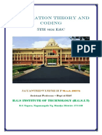 VTU E&C CBCS 5th sem Information theory and coding Module - 3 notes