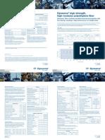 CIS YA100 - Dyneema® Properties (1XNSMX)