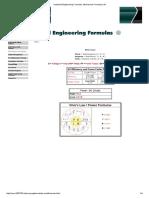 Industrial Engineering Formulas, Mechanical Formulas _ NJ