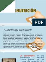 Diapositivas de La Desnutricion
