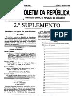 2º Decreto 57 2004 - Regulamento Das Microfinanças