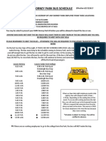 Bus Schedule as of June 17 2017 Updated PDF Form