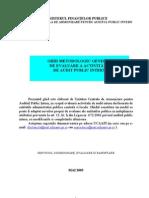 Facultativ Ghid logic Al Ministerului Finantelor Publice - Audit Public Intern