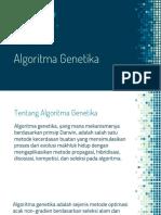 (3) Algoritma Genetika