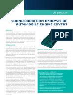 Auto Sound Radiatio Analysis of Automobile Engine