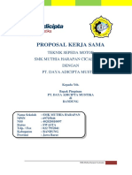 Contoh Proposal Kerjasama TSM SMKN 1 Majalengka