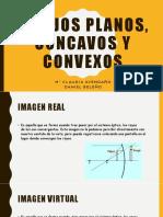 Espejos Concavos y Convexos