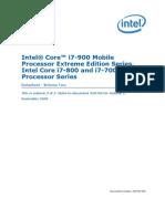 Intel® Core™ i7-900 Mobile Processor Extreme Edition Series, Intel® Core™ i7-800 and i7-700 Mobile Processor Series Datasheet — Volume 2