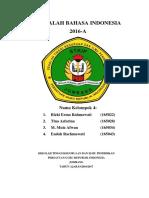 Contoh Cover Bahasa Indonesia