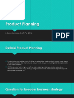 Product Planning