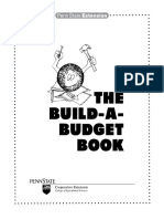 The Build a Budget Book