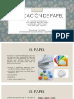 Fabricación de PapelFINAL