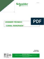 Canaleta Ranurada Dossier Tecnico