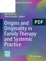 (European Family Therapy Association Series) Maria Borcsa, Peter Stratton (Eds.)-Origins and Originality