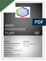 Brine Plant