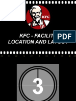 Kfc - Facility Location and Layout (Operation Management Project).