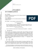 Vortex Dynamics in Turbulence