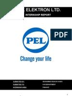 Pak Elektron Ltd. (Pel). Internship Report to Hr Dept. 02