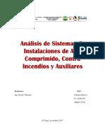 Análisis de Sistemas de Instalaciones de Aire Comprimido