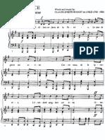 France - La Marseillaise - Piano