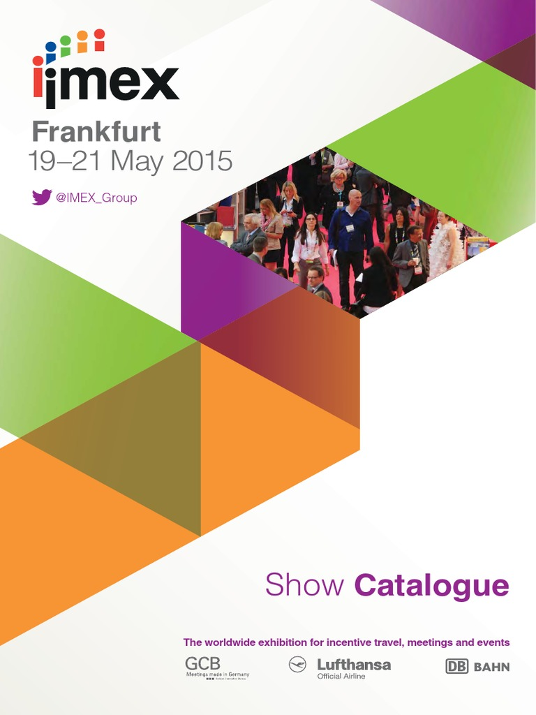 IMEX Show Catalogue 2015 Low Res | Value Added Tax | Restaurant And Catering
