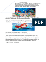 Fairy Tales Mermaid Narrative Text