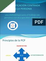 La Planificacion Centrada en La Persona Lic. Carmen Rosa Barron