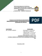 Proyecto Del GRUPO 3 Mejoramiento de Crudos Pesados y Extrapesado