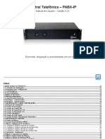 PDF Manual pabx ip Utech