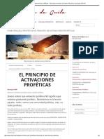 El Principio de Activaciones Proféticas - Alexandra Quesada de Guila _ Alexandra Quesada de Guila