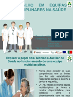 Equipas Multidisciplinares Na Saúde