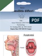 tosilitis difteri