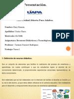 Tarea 1. Recursos Didacticos y Tecnologicos.