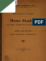 Hans Staden - Viagens e cativerio