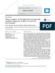 Data in Support of the Detection of Genetically MO