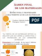 Estructura y Propiedades de Los Materiales (TEMA 1)
