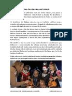 o Dia Das Bruxas No Brasil
