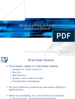 2 Good Welding Practices for Stainless Steel - Glenn Allen - TWI