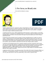 Revista Galileu - Edt Materia Imprimir - Olimpíadas 2016
