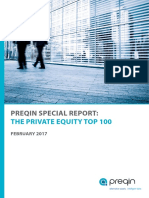 Top private Equity 100 February 2017 by funding