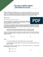 2.-Dinamica Del Cuerpo Rigido-ecuaciones de Euler