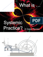 01 Powerpoint - What is Systemic Practice - A Review (From Sandie Chatterton, September 2017)
