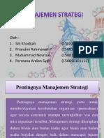 Ppt Manajemen Strategi