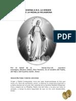 Novena Virgen de La Medalla Milagrosa