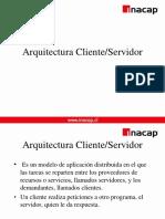 1. Arquitectura Cliente Servidor