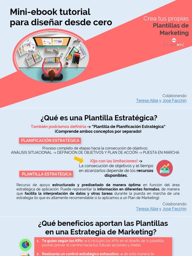 Mini eBook Tutorial Para Diseñar Plantillas Teresa Alba y Jose Facchin