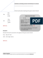 Activity Sheets Format