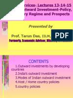 Global Services-13!14!15 Prof. Tarun Das