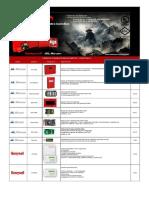 ALARMAS CONTRA INCENDIO MARCA MIRCOM -HONEYWELL - AUPAX - STI - SYSTEM SENSOR (1).pdf