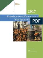 Plan Prevencion Forestal Porafolio